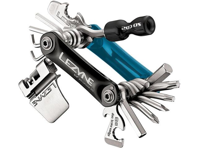 Lezyne Rap-21 CO2 Multifunktionswerkzeug blau/schwarz